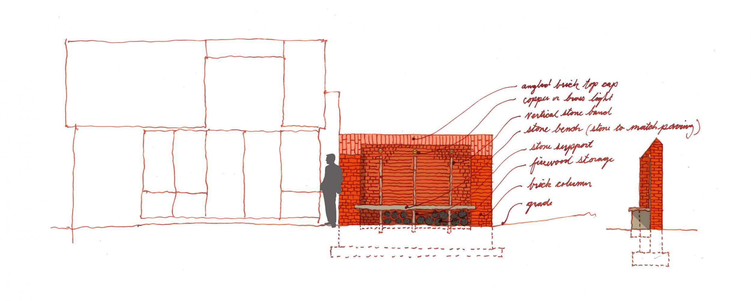 Britton_brick wall sketch